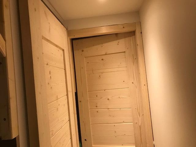 Installation de portes d'intérieur à Val Thorens