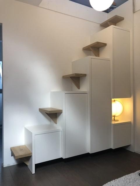 Conception Realisation Et Installation D Un Meuble Escalier Sur Mesure A Annecy Atelier Aub Ois Menuisier A Allevard En Isere